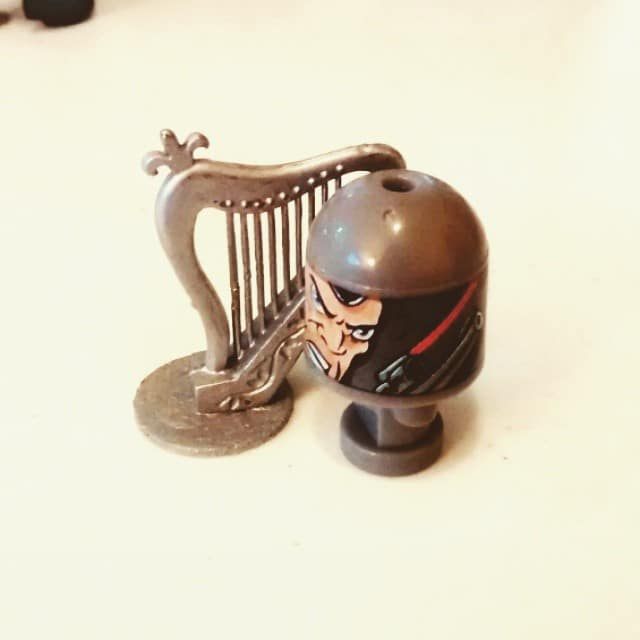 The #Bonkazonk Punisher finally gets his harp!