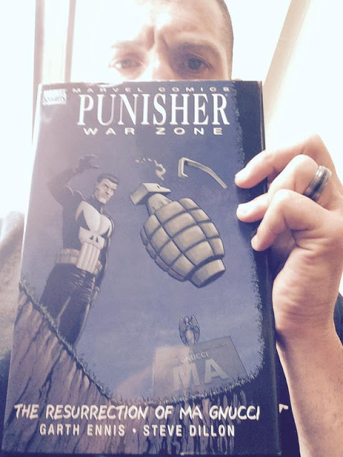 What Jon wants to do with Punisher.