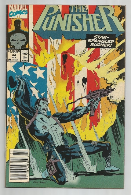 Cover to Punisher #44 (1987)