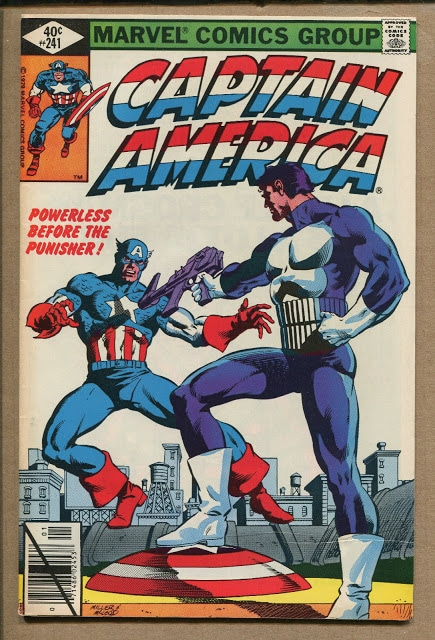 Cover of Captain America #241