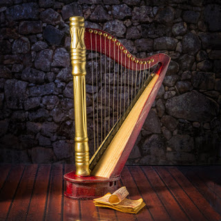 The Harp I ordered from Etsy.com