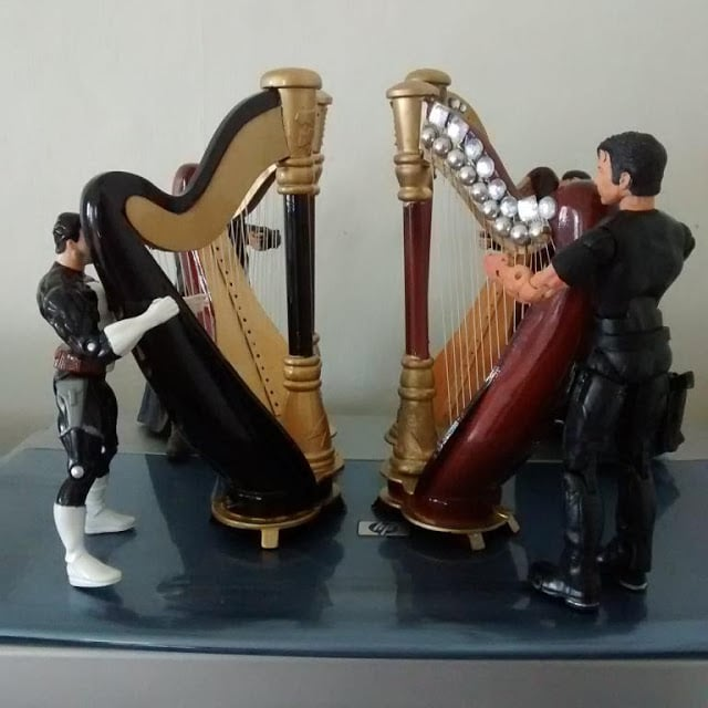 The Punisher Harp Quartet.