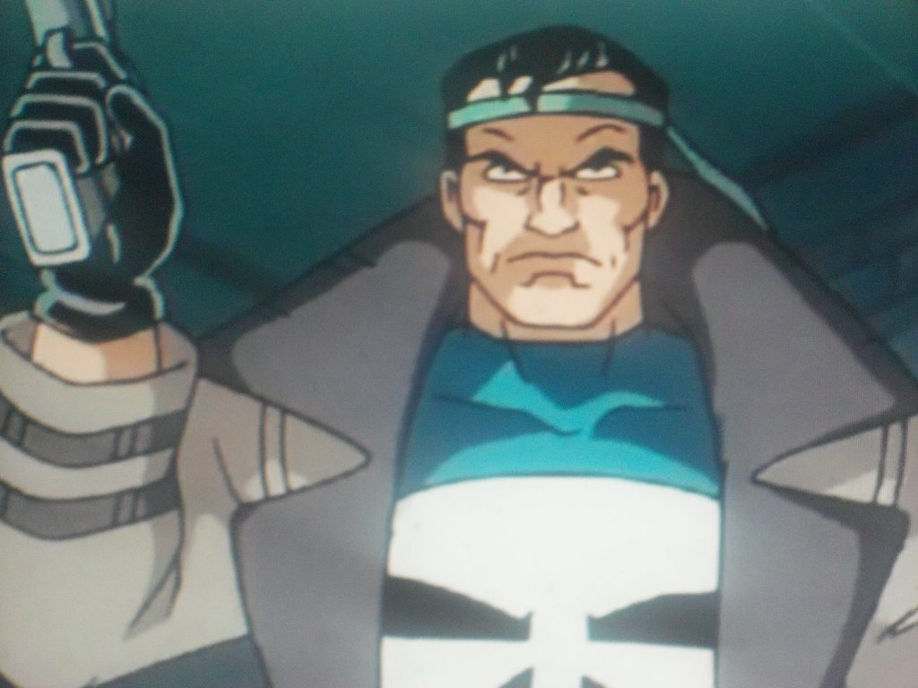 Frank Castle from Spiderman the animated series (Earth-92131).