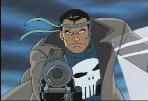 The Punisher from Spiderman the animated series.