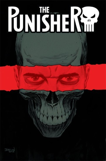 Cover Variant to Punisher #1 by Becky Cloonan and Steve Dillan