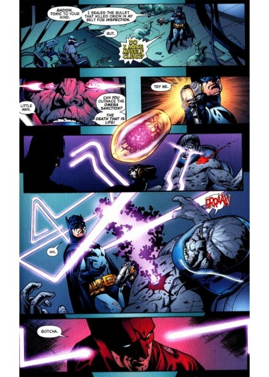 Batman kills Darkseid.