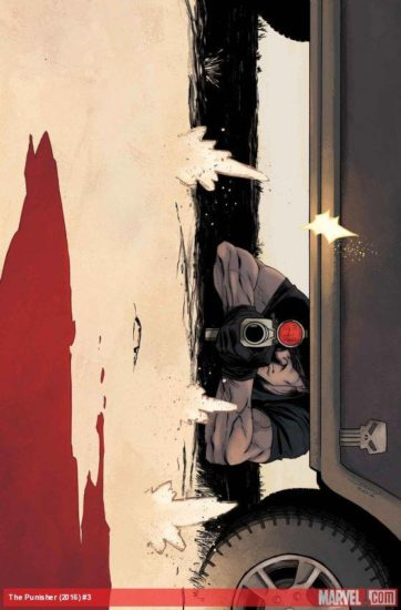 Cover to Punisher #3