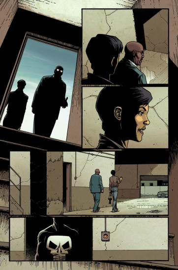 Punisher Comic Preview 3. Art by Steve Dillon.
