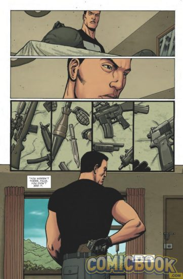 Punisher #2 Preview page.