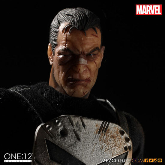 The Punisher from Mezco Toys