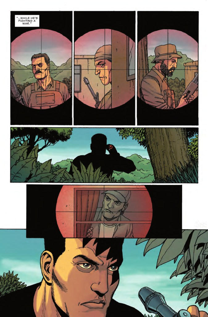 Sample page of Punisher #3