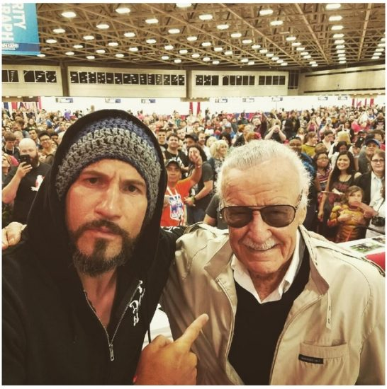 The Punisher with Stan Lee