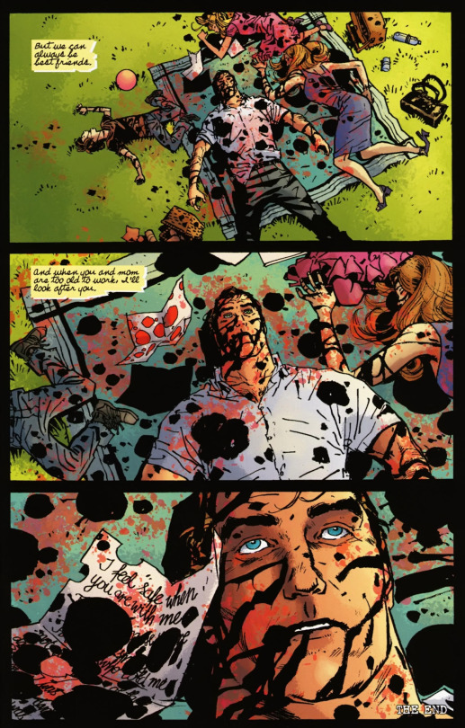 Scenes from Punisher Max