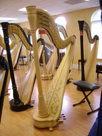 My Harp Grover purchased from The Virginia Harp Center.