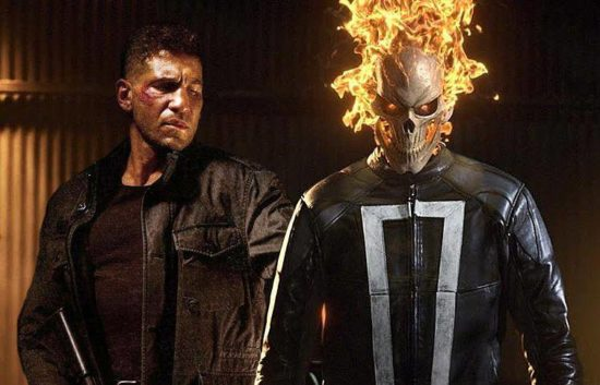 Punisher vs Ghost Rider (Robbie Reyes)