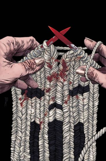 Cover to Punisher #8 by Declan Shalvey.