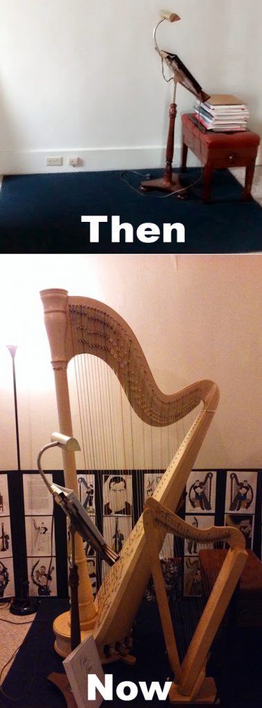 A special meme about Grover (a dream come true) and Curtis my harpsicle harp.