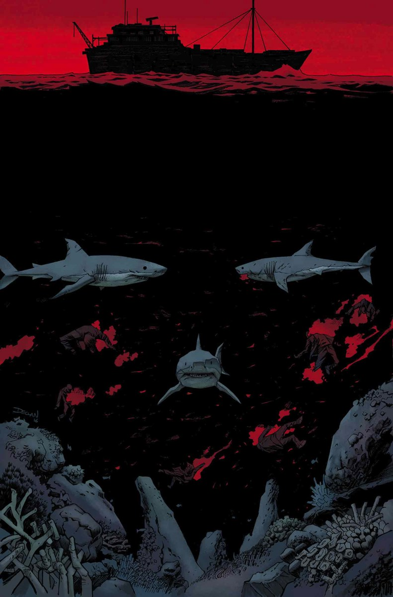 Cover to Punisher #11 by Declan Shalvey