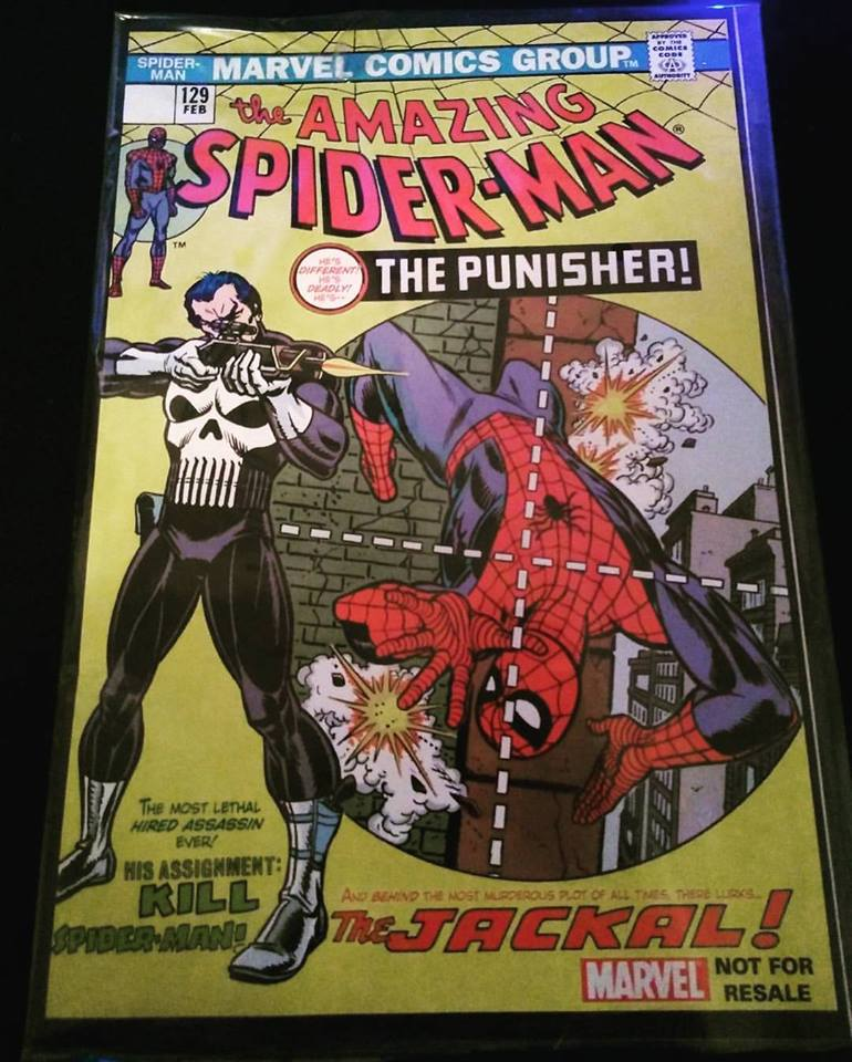 Spider-man #129 released in Feb. of 1974