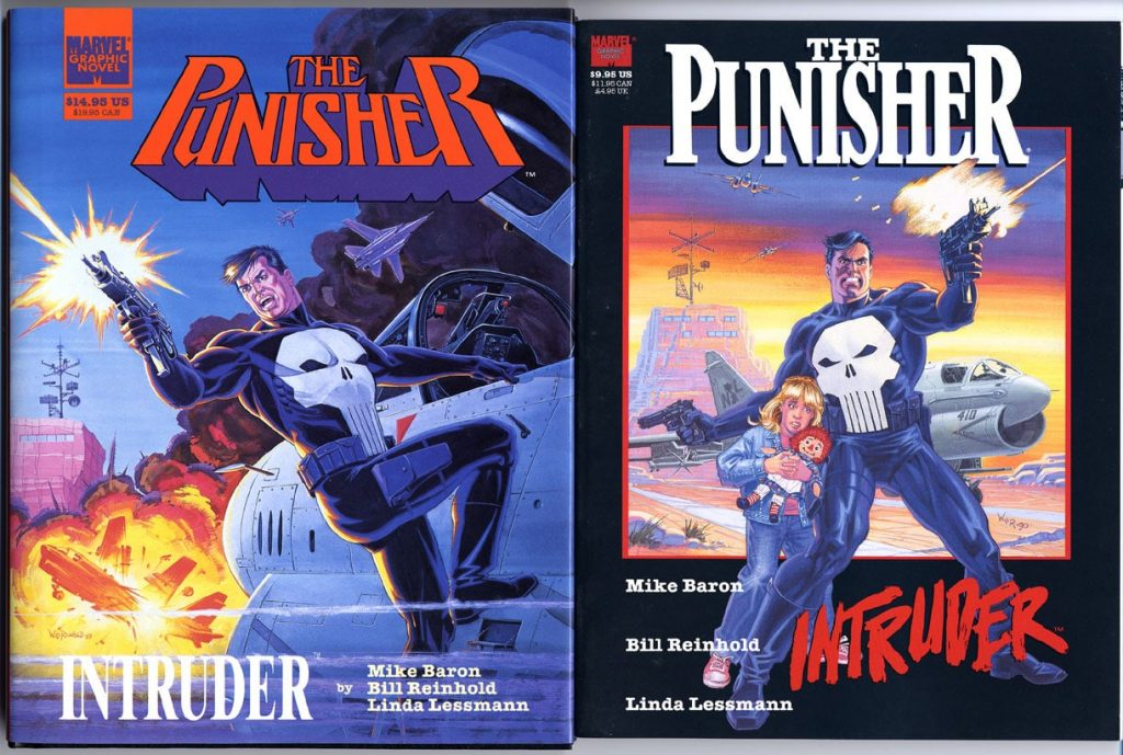 2 Punisher covers by Bill Reinhold.