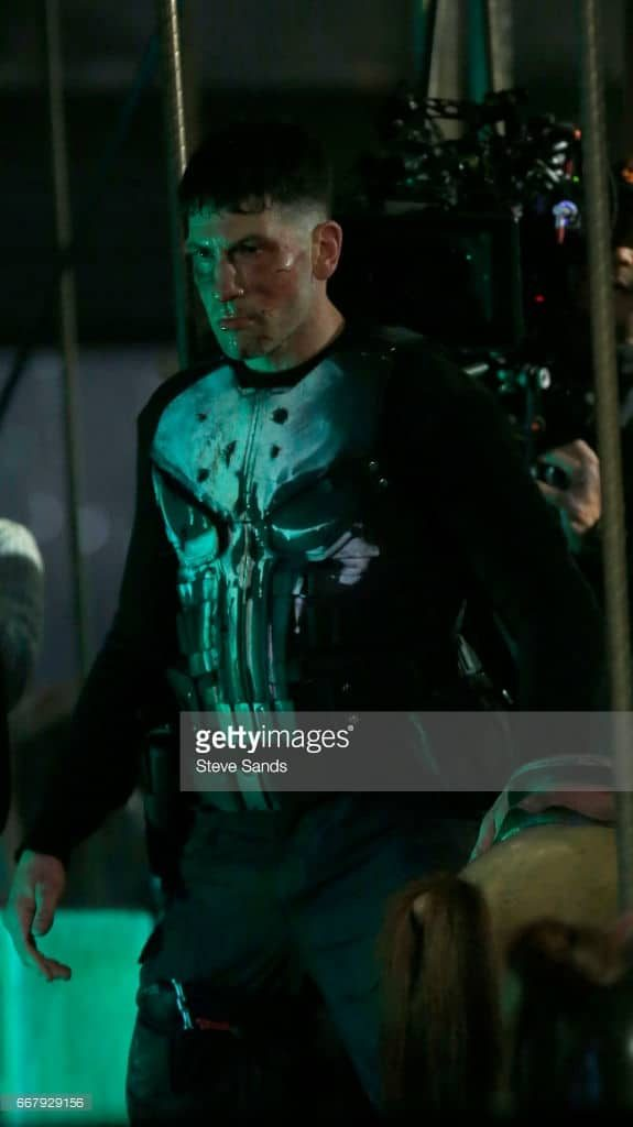 Jon Bernthal shown in Punisher skull armor. 2