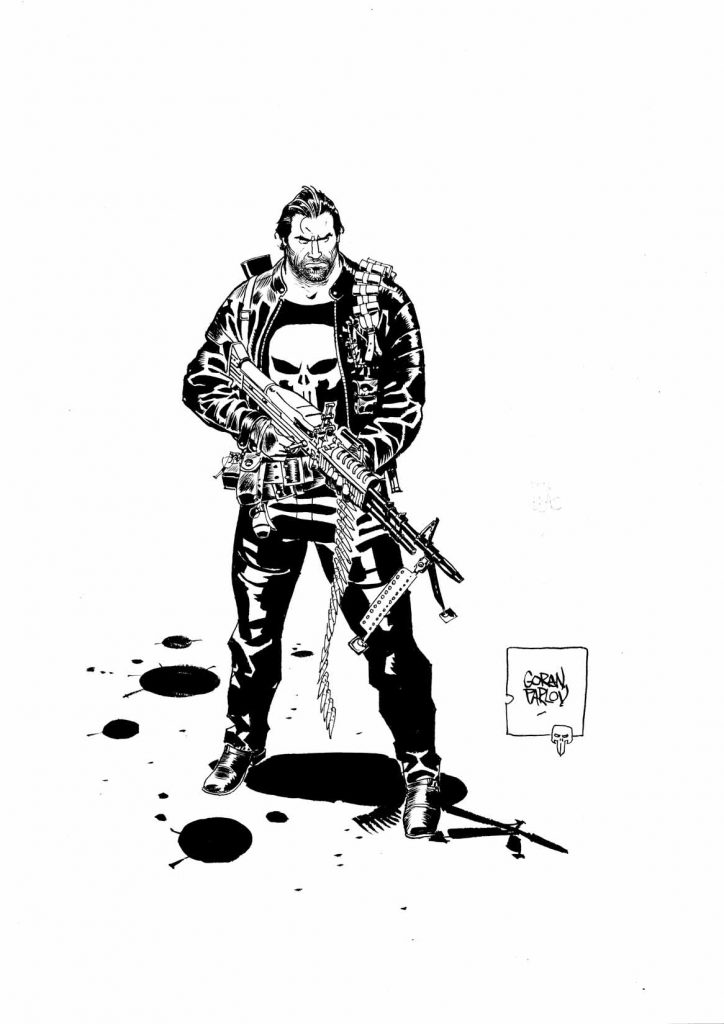 The Punisher by Goran Parlov.