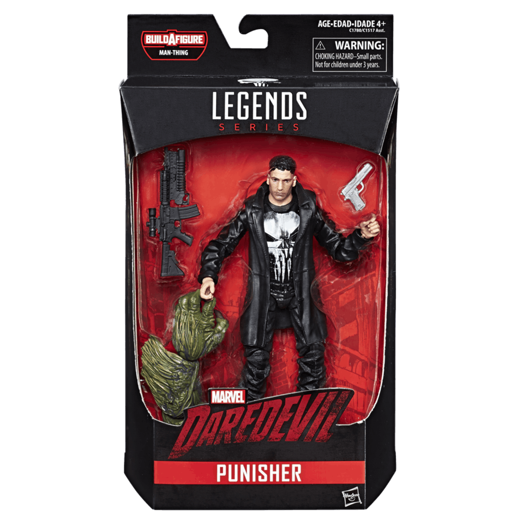 MARVEL KNIGHTS LEGENDS SERIES 6 INCH Figure Assortment Punisher in package.