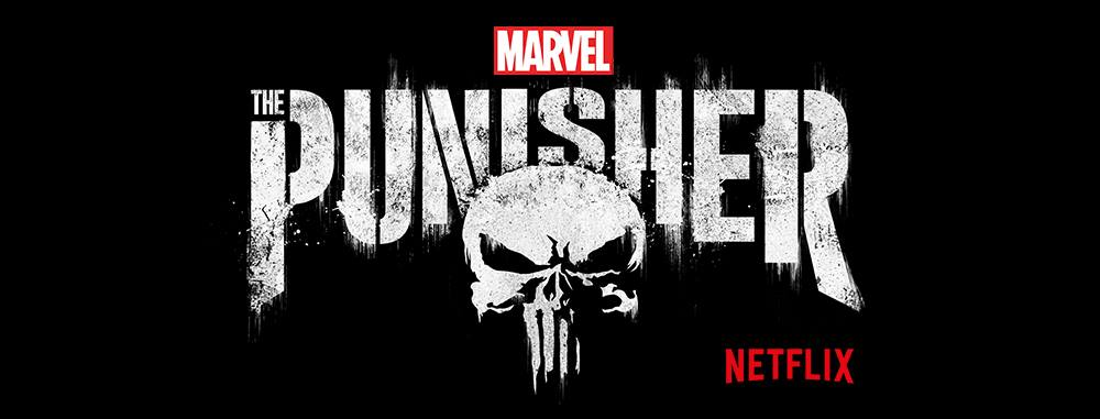 The Official logo of Netflix's The Punisher.