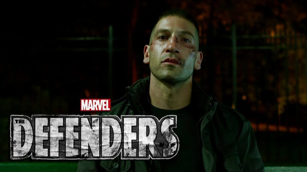 Punisher will appear in The Defenders!