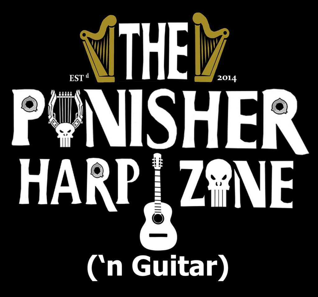 Punisher Harp 'n Guitar Zone Logo