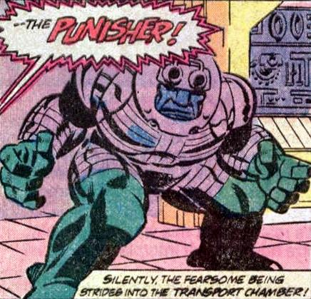 The Original Punisher long before the other Punisher came along.