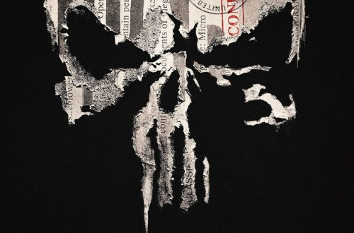 "The Punisher poster that says ""The Truth Must Be Taken."""