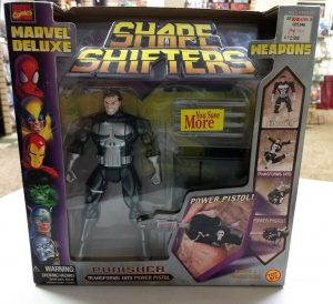 The Controversial Punisher figure.