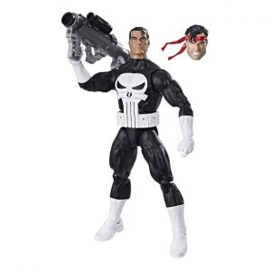 Here he is out of the box. I believe he'll be pleased to join The Punisher Harp Ensemble when I find him.