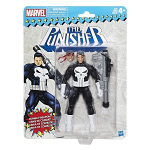 What The Retro Punisher Package looks like. Kind of reminds you of the time you were buying figures like him from Toy Biz, doens't it?