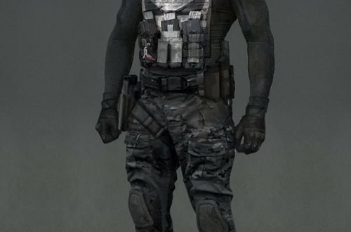 Concept art for Punisher Season 2
