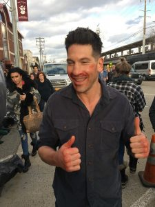 Another thumb's up from The Punisher!