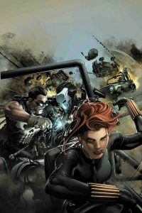Cover to Punisher #227 by CLAYTON CRAIN